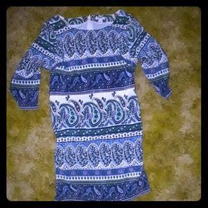 Adorable tribal print dress sz small